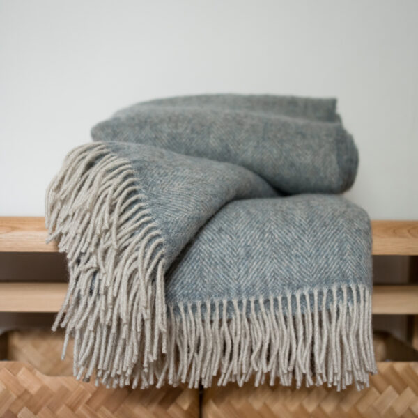 Coverdale Throw, Blue
