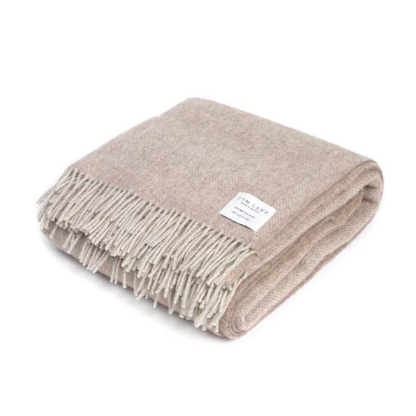 Coverdale Throw, Light Pink